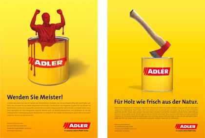 Adler Ad Adler Branding Corporate Design Gantnerundenzi